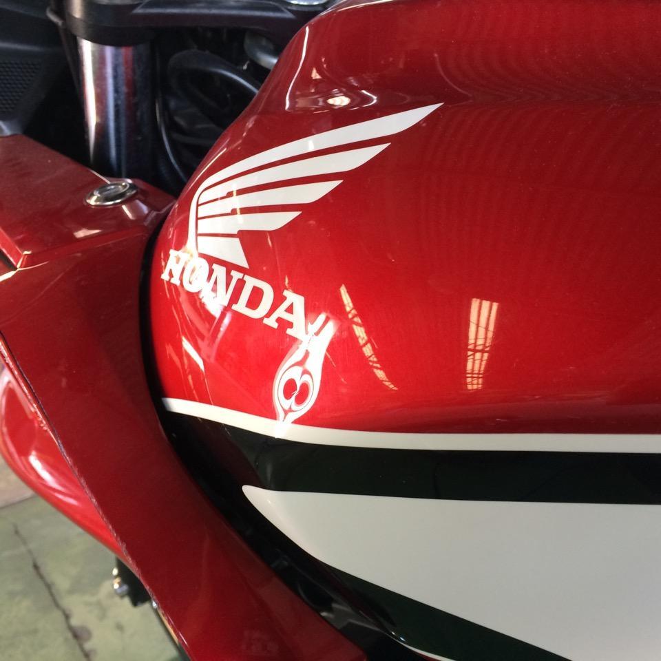 バイクタンク専用ツールで修復。ホンダ CB400