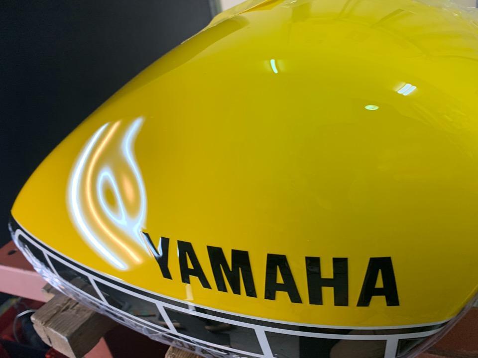 バイクディーラー経由でタンクを送って頂くお客様が増えています。ヤマハボルト 宮城県